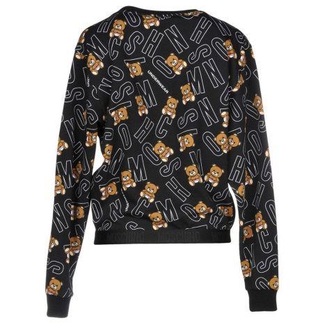 Moschino Pijama Tedys Siyah #Moschino #Pijama #MoschinoPijama #Kadın #MoschinoTedys #Tedys