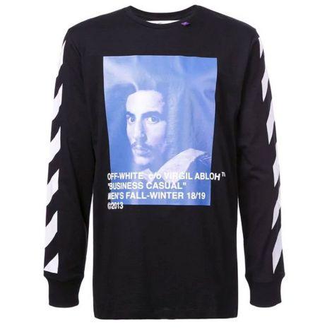 Off White Sweatshirt Baskılı Siyah #OffWhite #Sweatshirt #OffWhiteSweatshirt #Erkek #OffWhiteBaskılı #Baskılı