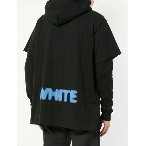 Off White Sweatshirt Blurred Siyah #OffWhite #Sweatshirt #OffWhiteSweatshirt #Erkek #OffWhiteBlurred #Blurred
