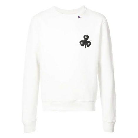 Off White Sweatshirt Spray Beyaz #OffWhite #Sweatshirt #OffWhiteSweatshirt #Erkek #OffWhiteSpray #Spray