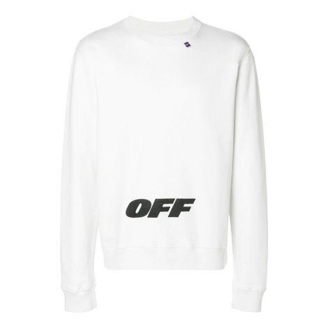 Off White Sweatshirt WingOff Beyaz #OffWhite #Sweatshirt #OffWhiteSweatshirt #Erkek #OffWhiteWingOff #WingOff