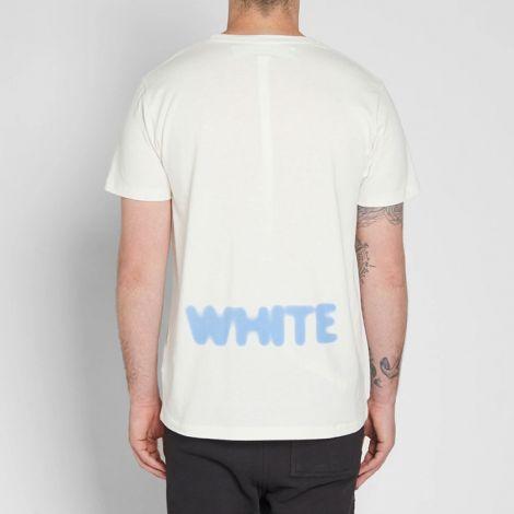 Off White Tişört Blurred Beyaz #OffWhite #Tişört #OffWhiteTişört #Erkek #OffWhiteBlurred #Blurred