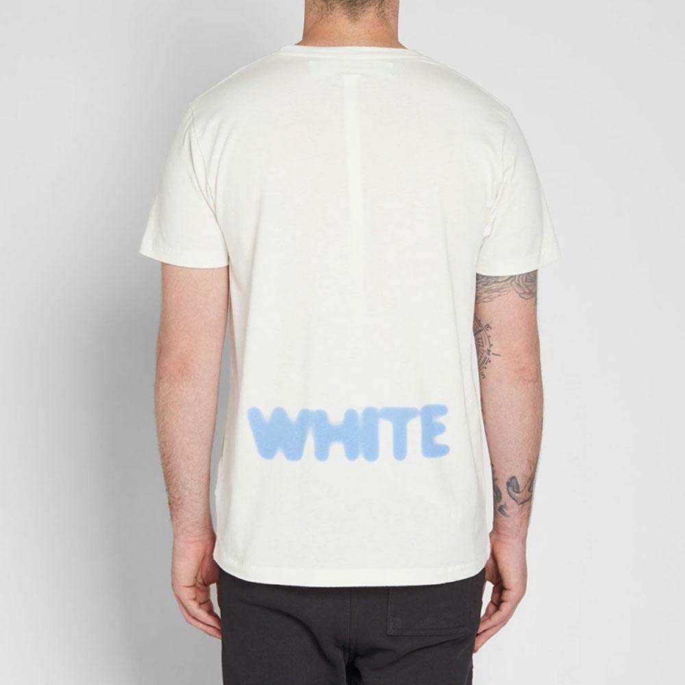 Off White Blurred Tişört Beyaz - 5 #Off White #OffWhiteBlurred #Tişört - 2