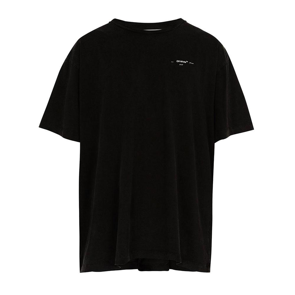Off White 3D Tişört Siyah - 1 #Off White #OffWhite3D #Tişört