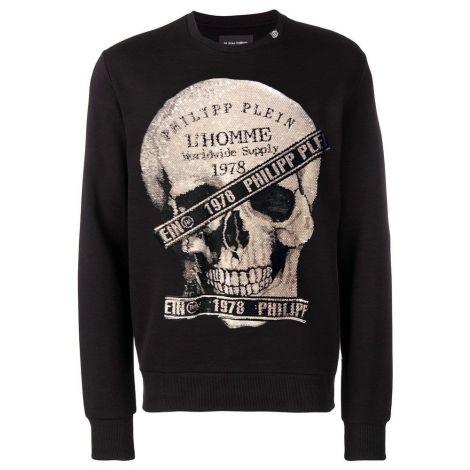 Philipp Plein Sweatshirt 1978 Siyah #PhilippPlein #Sweatshirt #PhilippPleinSweatshirt #Erkek #PhilippPlein1978 #1978