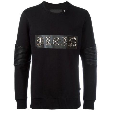 Philipp Plein Sweatshirt Alloy Siyah #PhilippPlein #Sweatshirt #PhilippPleinSweatshirt #Erkek #PhilippPleinAlloy #Alloy