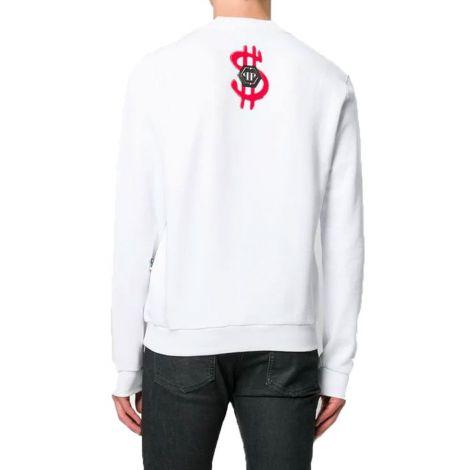 Philipp Plein Sweatshirt Monopoly Beyaz #PhilippPlein #Sweatshirt #PhilippPleinSweatshirt #Erkek #PhilippPleinMonopoly #Monopoly Philipp Plein Sweatshirt Mit  Monopoly Alexs Beyaz