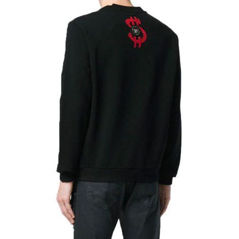 Philipp Plein Sweatshirt Monopoly Siyah #PhilippPlein #Sweatshirt #PhilippPleinSweatshirt #Erkek #PhilippPleinMonopoly #Monopoly