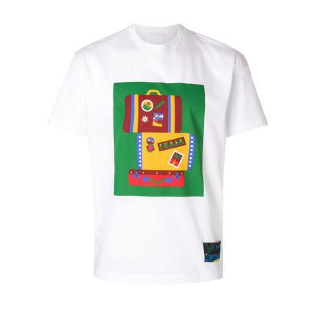 Prada Tişört Suitcase Beyaz #Prada #Tişört #PradaTişört #Erkek #PradaSuitcase #Suitcase