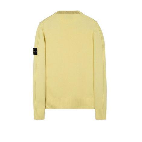 Stone Island Sweatshirt Crewneck Sarı #StoneIsland #Sweatshirt #StoneIslandSweatshirt #Erkek #StoneIslandCrewneck #Crewneck