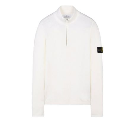 Stone Island Sweatshirt High Neck Beyaz #StoneIsland #Sweatshirt #StoneIslandSweatshirt #Erkek #StoneIslandHigh Neck #High Neck