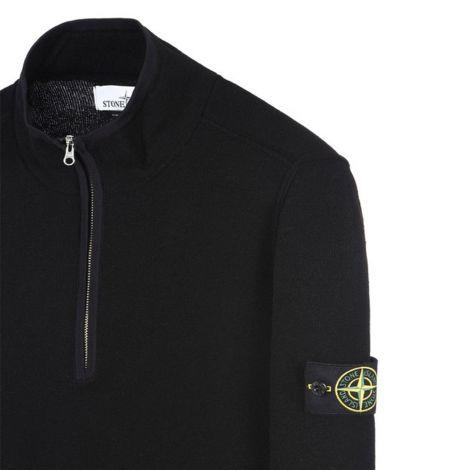 Stone Island Sweatshirt High Neck Siyah #StoneIsland #Sweatshirt #StoneIslandSweatshirt #Erkek #StoneIslandHigh Neck #High Neck
