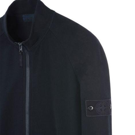 Stone Island Sweatshirt Zip Mavi #StoneIsland #Sweatshirt #StoneIslandSweatshirt #Erkek #StoneIslandZip #Zip
