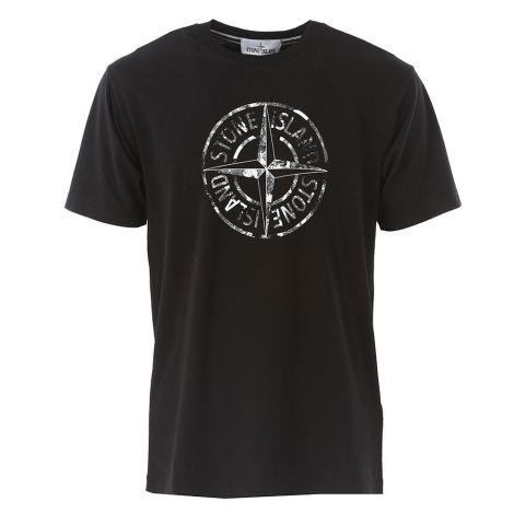 Stone Island Tişört Logo Siyah #StoneIsland #Tişört #StoneIslandTişört #Erkek #StoneIslandLogo #Logo