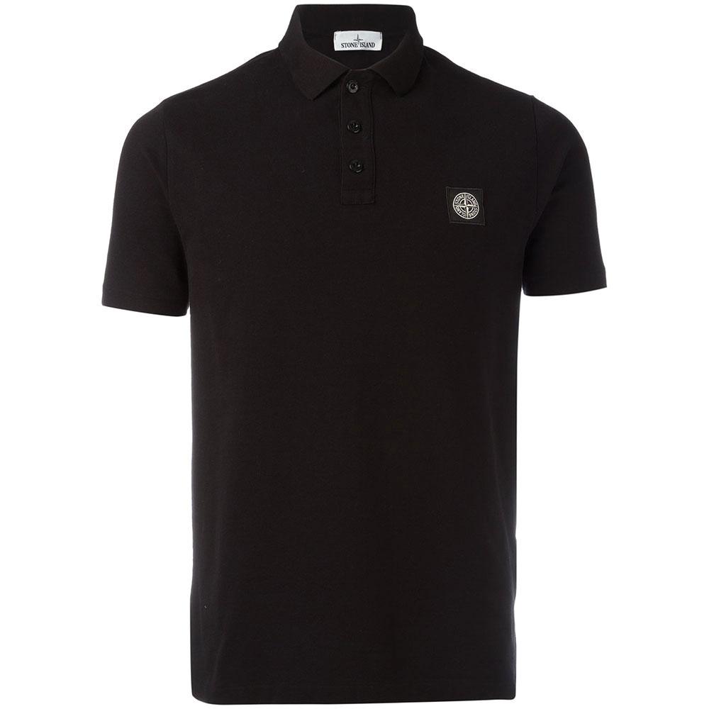 Stone Island Polo Tişört Siyah - 4 #Stone Island #StoneIslandPolo #Tişört