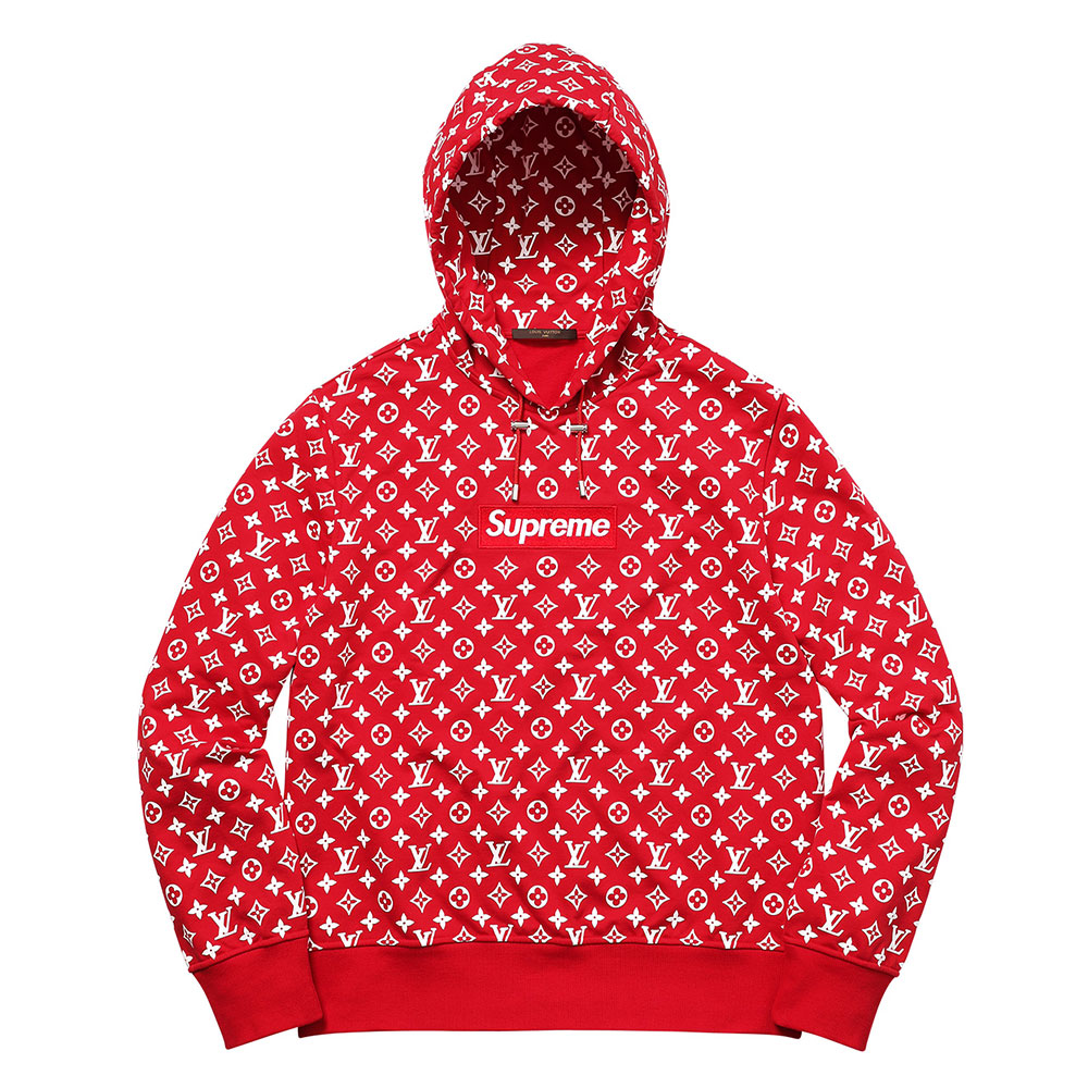 Supreme Louis Vuitton Sweatshirt Kırmızı - 2 # | Maslak Outlet #SupremeLouisVuitton #Sweatshirt
