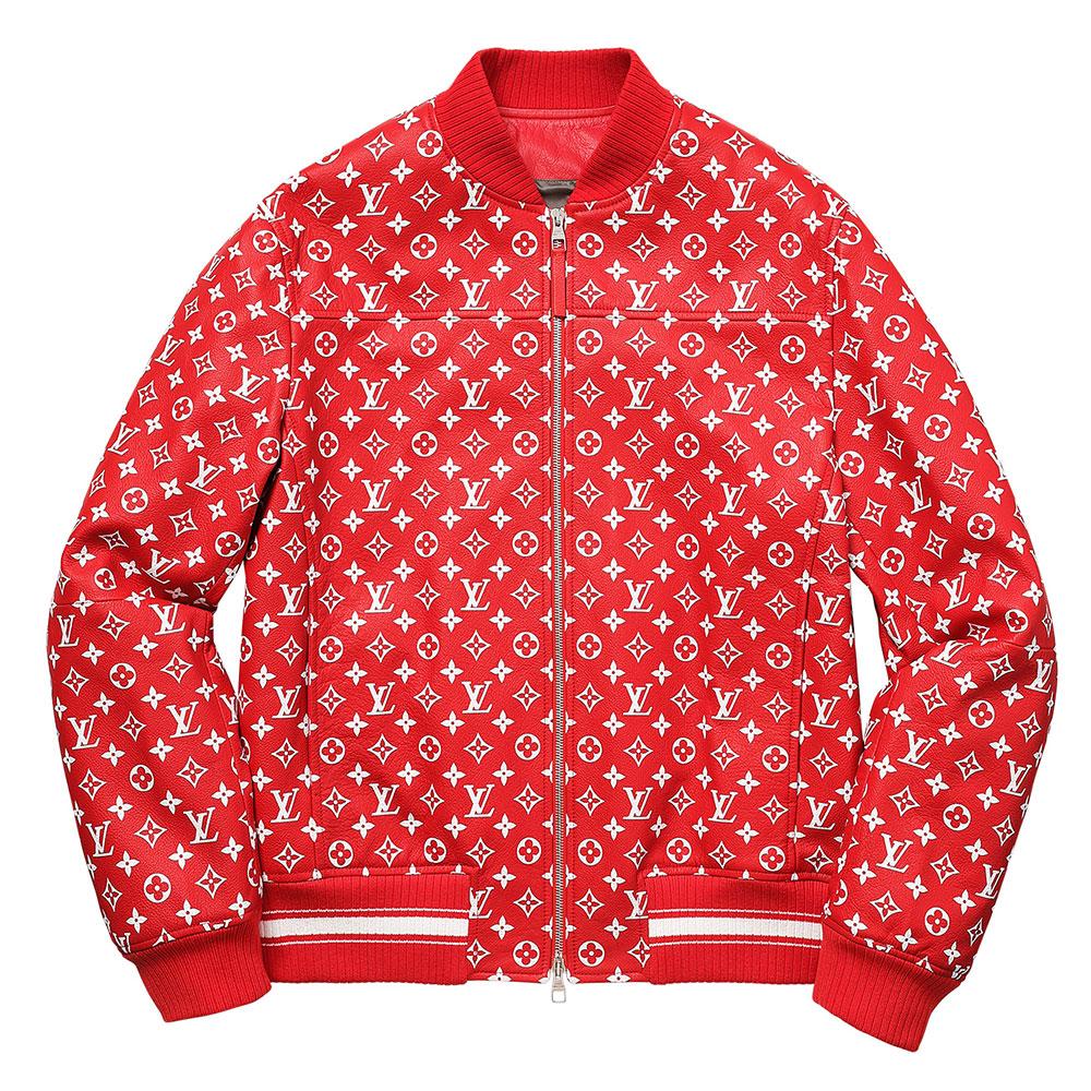 Supreme Louis Vuitton Bomber Ceket Kırmızı - 1 # | Maslak Outlet #SupremeLouisVuitton #Bomber Ceket