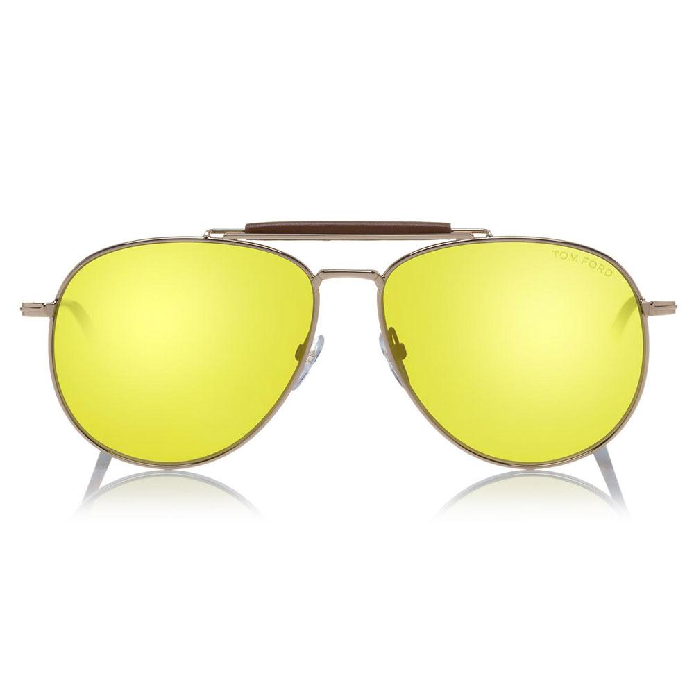 Tom Ford Sean Gözlük Sarı - 3 #Tom Ford #TomFordSean #Gözlük