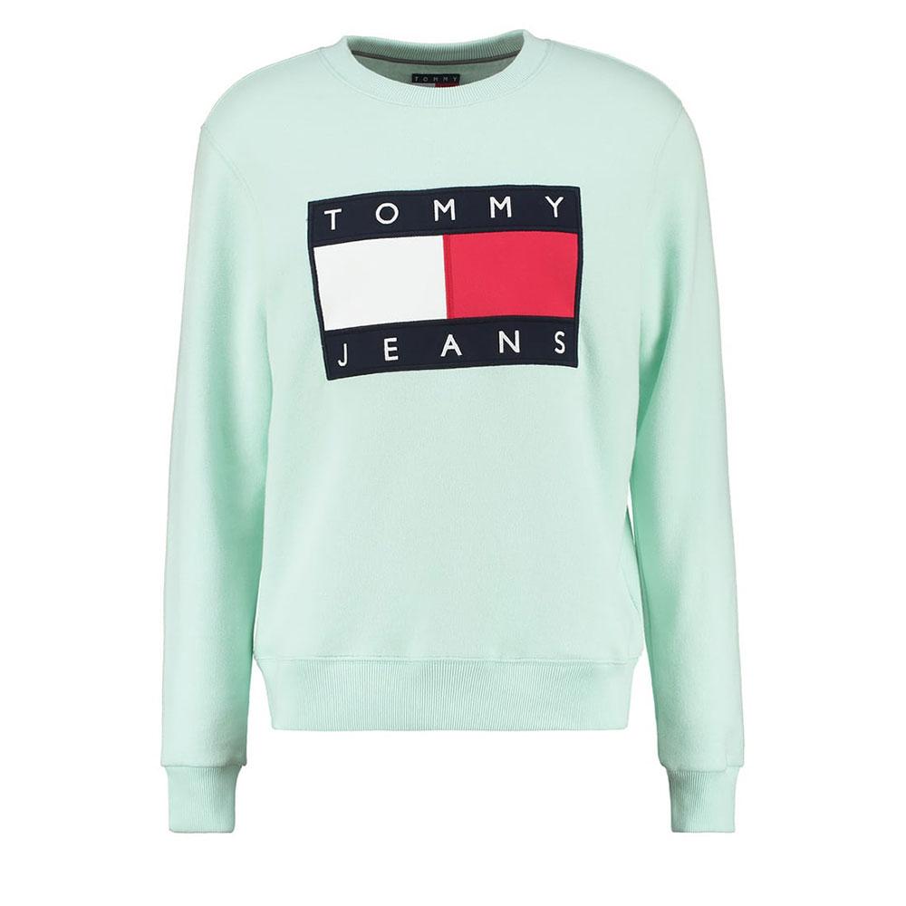 Tommy Hilfiger 90s Sweatshirt Açık Mavi - 24 #Tommy Hilfiger #TommyHilfiger90s #Sweatshirt