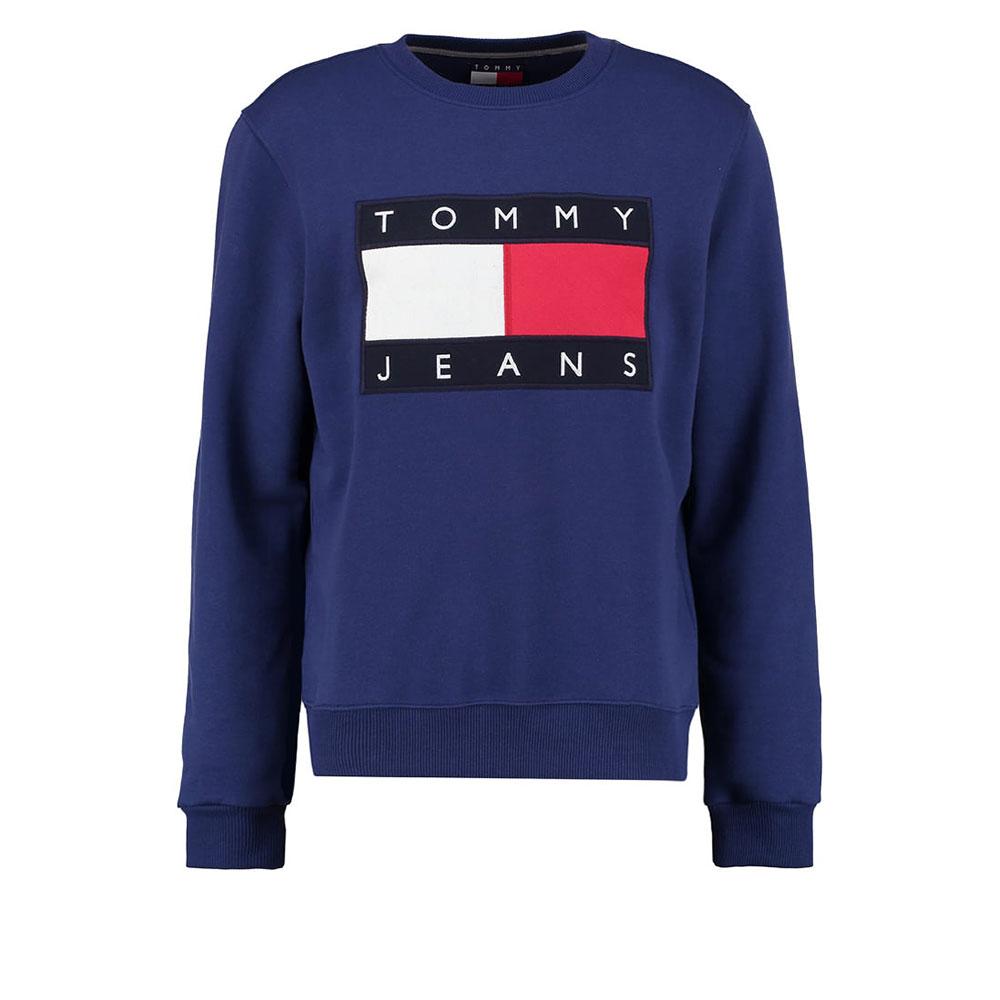 Tommy Hilfiger 90s Sweatshirt Mavi - 20 #Tommy Hilfiger #TommyHilfiger90s #Sweatshirt