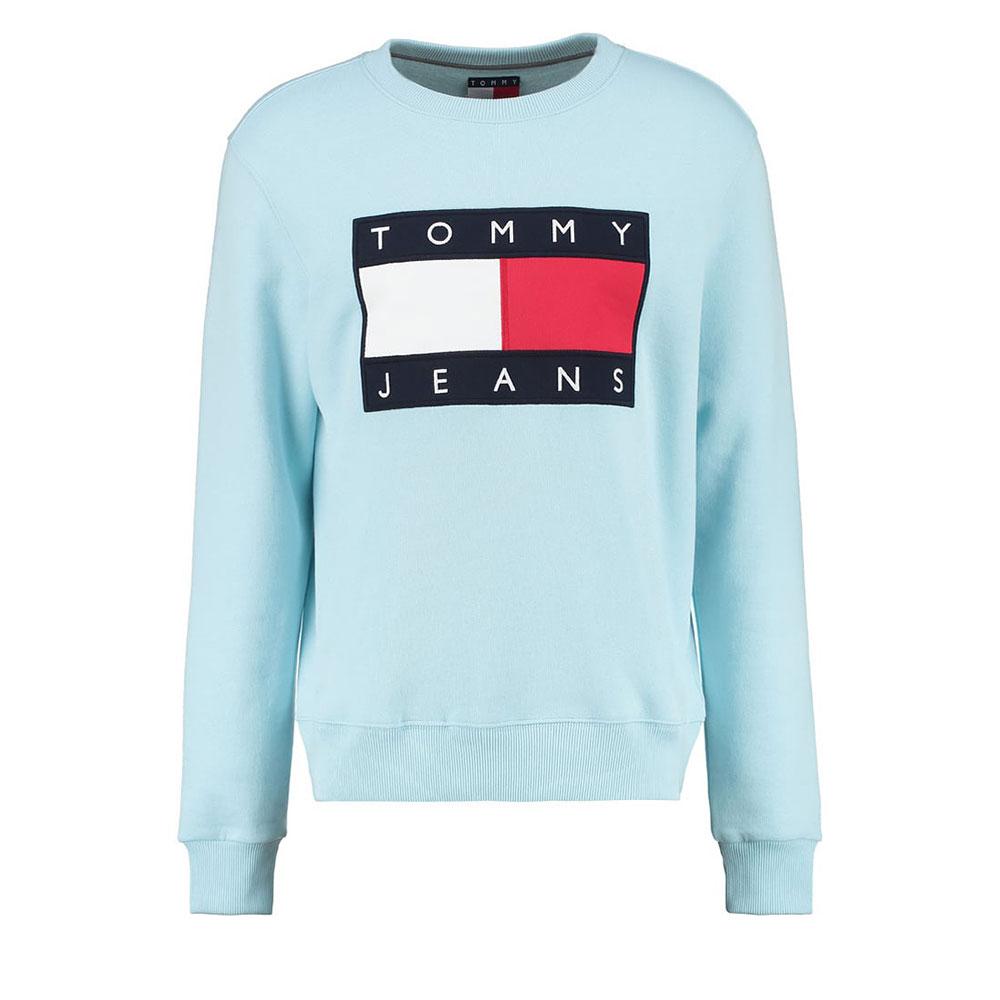 Tommy Hilfiger 90s Sweatshirt Turkuaz - 23 #Tommy Hilfiger #TommyHilfiger90s #Sweatshirt