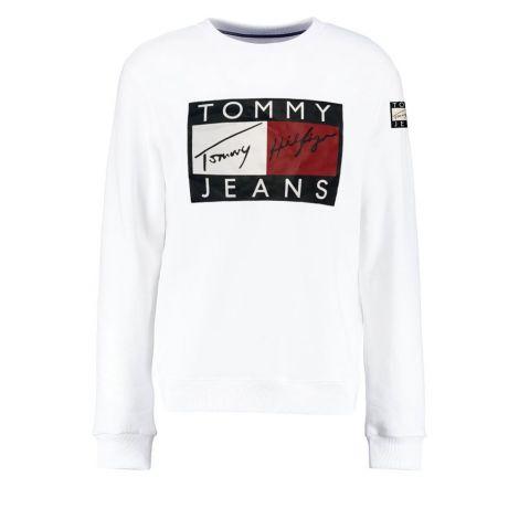 Tommy Hilfiger Sweatshirt 90s Beyaz #TommyHilfiger #Sweatshirt #TommyHilfigerSweatshirt #Kadın #TommyHilfiger90s #90s