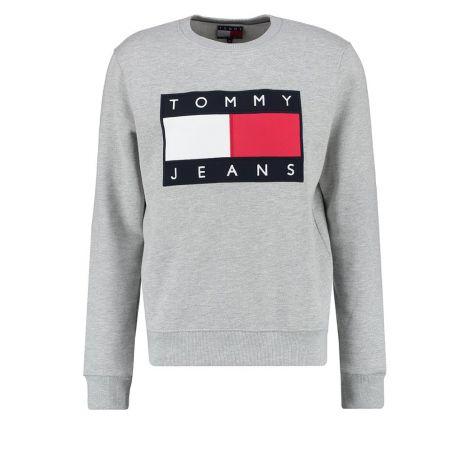 Tommy Hilfiger Sweatshirt 90s Gri #TommyHilfiger #Sweatshirt #TommyHilfigerSweatshirt #Kadın #TommyHilfiger90s #90s