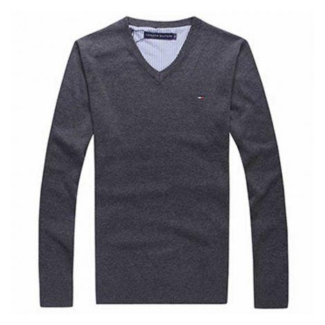 Tommy Hilfiger Sweatshirt Gri #TommyHilfiger #Sweatshirt #TommyHilfigerSweatshirt #Erkek #TommyHilfigertommy #tommy