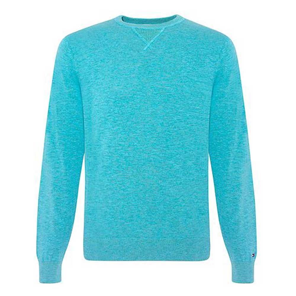 Tommy Hilfiger Sweatshirt Turkuaz - 2 #Tommy Hilfiger #TommyHilfiger #Sweatshirt