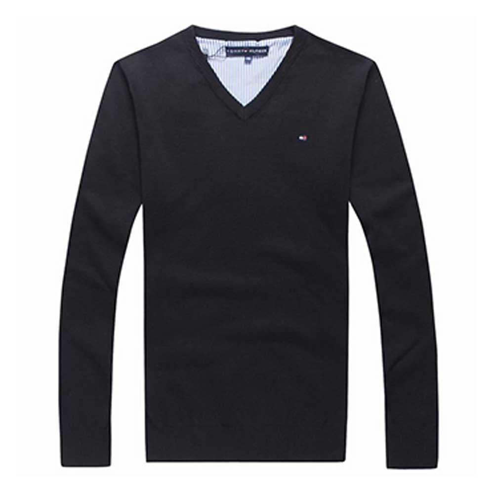 Tommy Hilfiger Sweatshirt Siyah - 10 #Tommy Hilfiger #TommyHilfiger #Sweatshirt