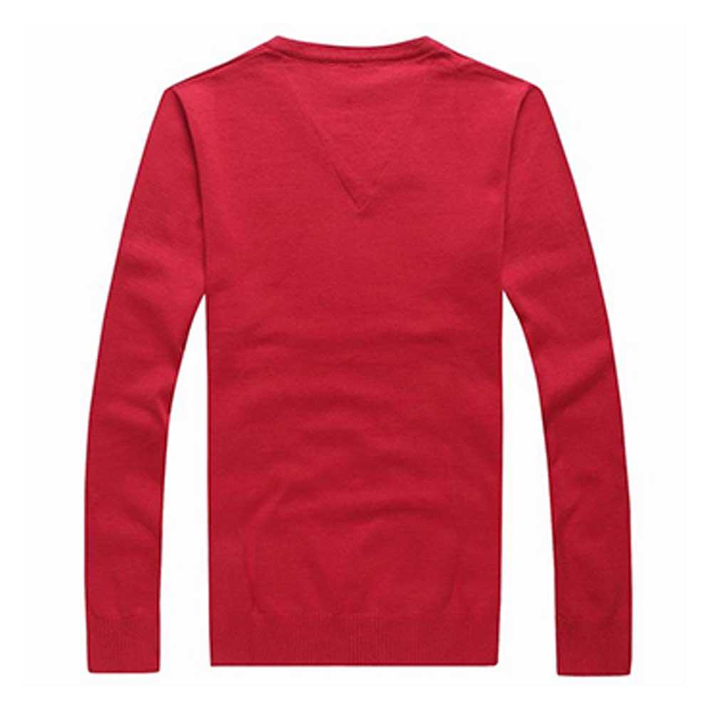 Tommy Hilfiger Sweatshirt Kırmızı - 14 #Tommy Hilfiger #TommyHilfiger #Sweatshirt - 2