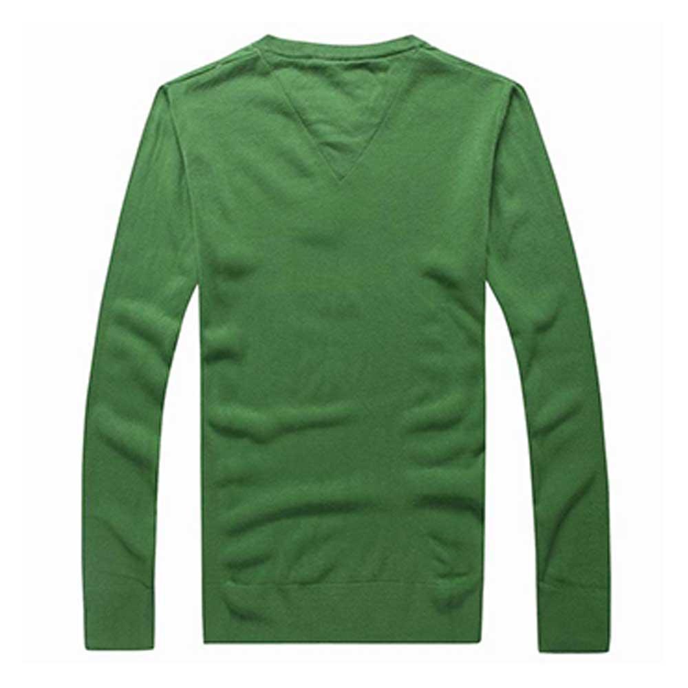 Tommy Hilfiger Sweatshirt Yeşil - 7 #Tommy Hilfiger #TommyHilfiger #Sweatshirt - 2