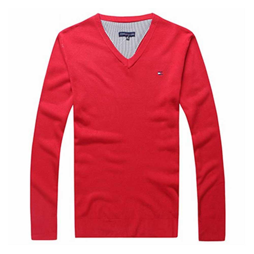 Tommy Hilfiger Sweatshirt Kırmızı - 9 #Tommy Hilfiger #TommyHilfiger #Sweatshirt