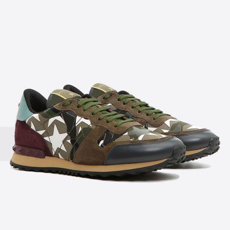 Valentino Ayakkabı Rockrunner Yeşil #Valentino #Ayakkabı #ValentinoAyakkabı #Erkek #ValentinoRockrunner #Rockrunner