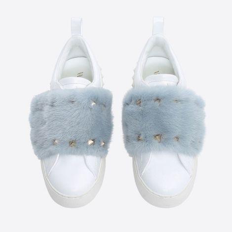 Valentino Ayakkabı Mink Fur Beyaz #Valentino #Ayakkabı #ValentinoAyakkabı #Kadın #ValentinoMink Fur #Mink Fur