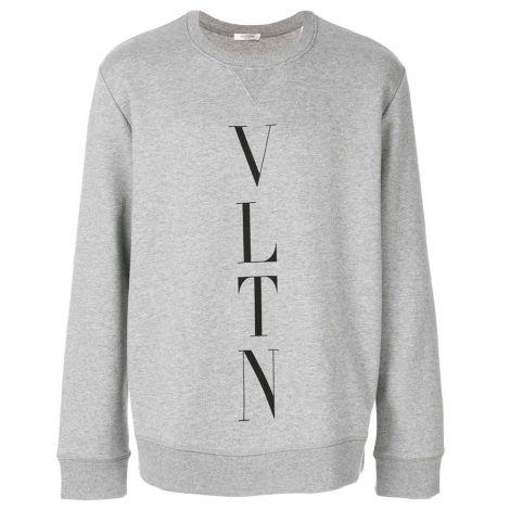 Valentino Sweatshirt VLTN Gri #Valentino #Sweatshirt #ValentinoSweatshirt #Erkek #ValentinoVLTN #VLTN