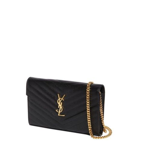 Saint Laurent Çanta Monogram Siyah - Saint Laurent Canta Md Monogram Quilted Leather Bag Siyah