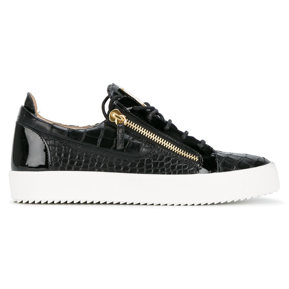 Giuseppe Zanotti Frankie Ayakkabı Siyah - 3 #Giuseppe Zanotti #GiuseppeZanottiFrankie #Ayakkabı